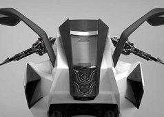 Concept - Chak Motot: la Russie envoie son spoutnik à deux roues