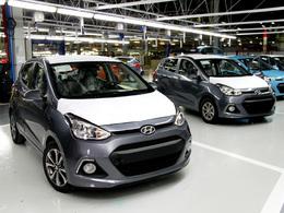 Hyundai termine l'extension de son site turc et produit les premières i10 NG