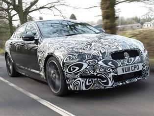 """La Jaguar XF passe au """"4 cylindres"""" diesel"""