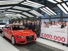 Cinq millions d'Audi A4 dans la nature