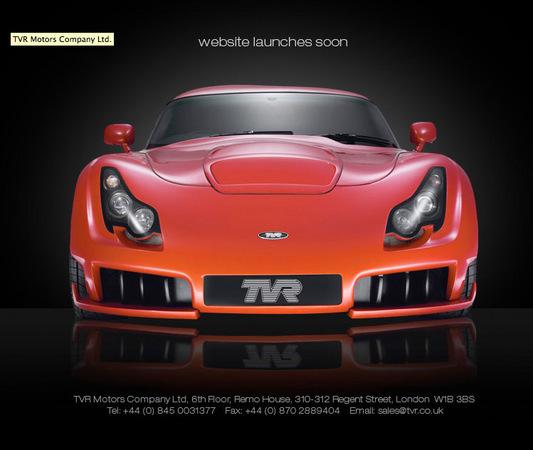 TVR de retour. Une nouvelle auto en juillet 2010!