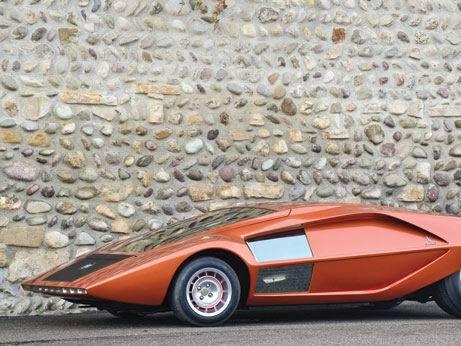 Six voitures de la collection Bertone mises en vente le 21 mai prochain
