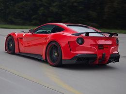Ferrari F12 N-Largo Novitec, large et très puissante