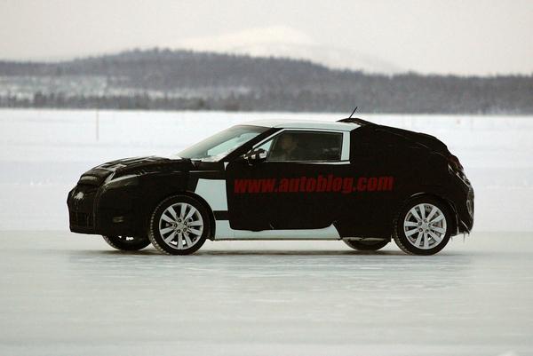 Le futur Hyundai Coupé/Veloster presque prêt