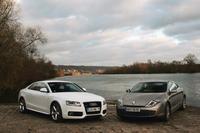 Comparatif Audi A5 3.0 TDI / Renault Laguna Coupé 3.0 dCi: une question de légitimité