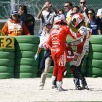 Moto GP - San Marin: Hayden s'attendait à un coup de De Angelis