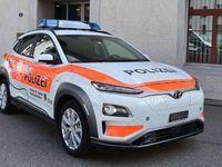 La police suisse roule en Hyundai Kona EV
