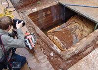 Exhumation Plymouth 1957: les festivités tombent à l'eau !
