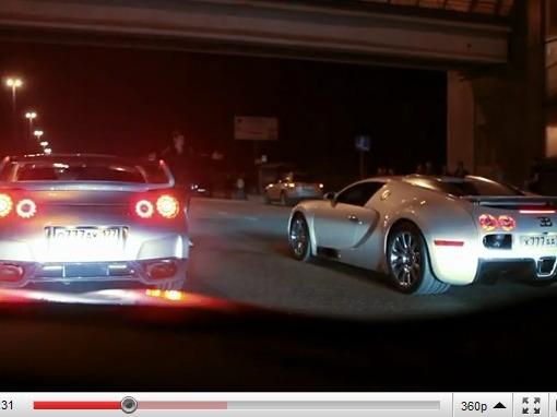 Bugatti Veyron vs Nissan GT-R Switzer P800, la vidéo intégrale