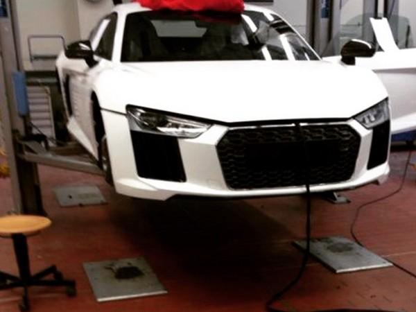 Scoop : est-ce là la nouvelle Audi R8 ?