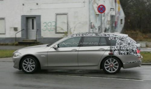 BMW Serie 5 Touring : présentation à Leipzig