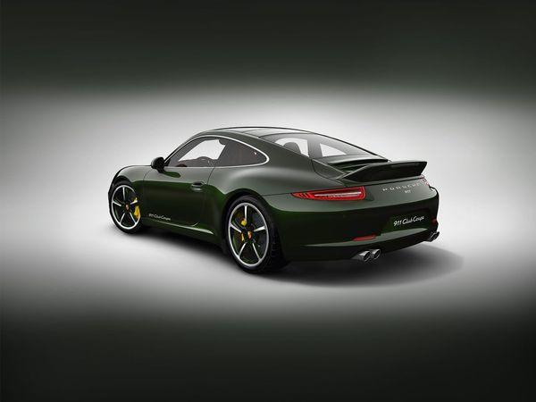 """Nouvelle Porsche 911 Club Coupe: l'aileron """"queue de canard"""" lui va si bien!"""