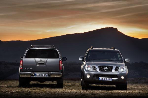 Nissan Pathfinder et Navara : restylage et nouveau moteur