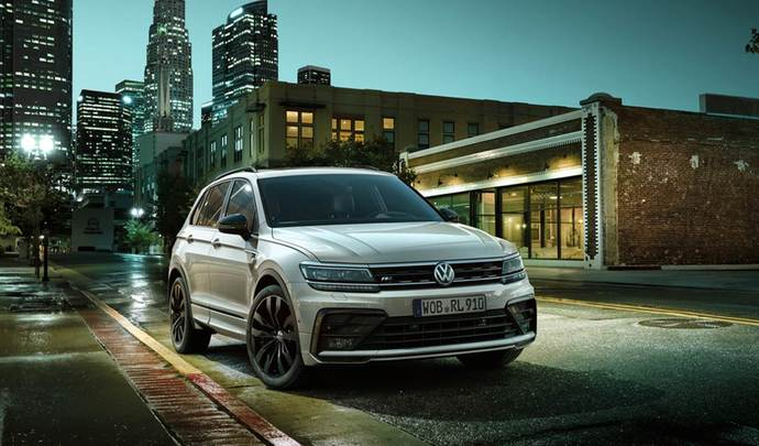 Volkswagen lance la série limitée Tiguan Black R-Line