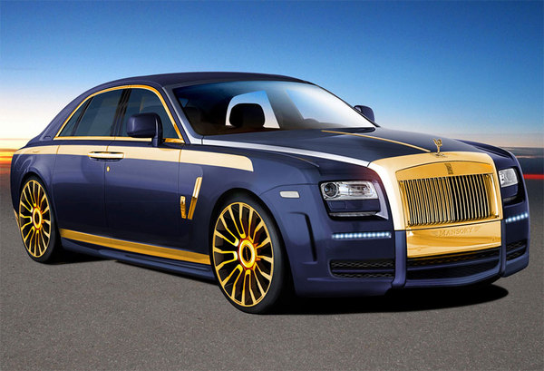 Rolls-Royce Ghost par Mansory : bling bling bling