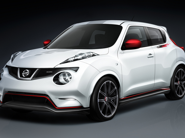 Un Nissan Juke Nismo RS à Los Angeles