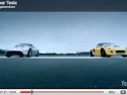 Tesla poursuit Top Gear et la BBC pour un comparatif apparemment truqué