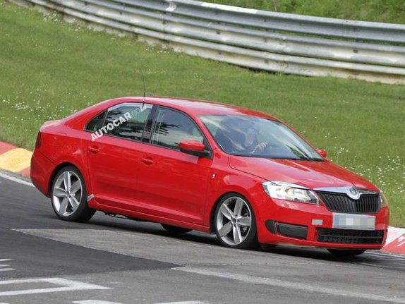 La Skoda Rapid surprise sur le Nurburgring