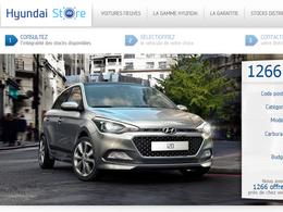 Hyundai lance son Web-Store