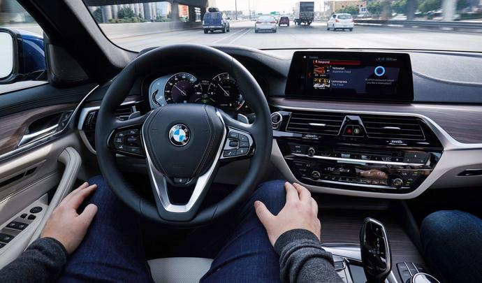 BMW testera 40 voitures autonomes sur les routes cette année