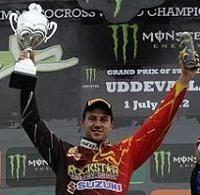 Motocross mondial Suède : Cairoli relance le championnat, Desalle prend la plaque rouge
