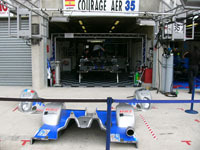 Le Mans 2007 : la Courage LC75 Saulnier Racing à nu