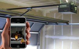J'ouvre la porte de mon garage avec mon iPhone