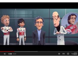 Alain Prost vu par la série Tooned de McLaren