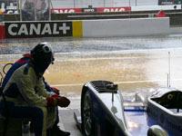 Le Mans 2007 : Déluge sur la piste