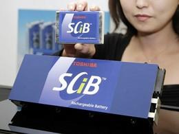 Véhicules électriques : Toshiba met le paquet pour les batteries lithium-ion SCiB