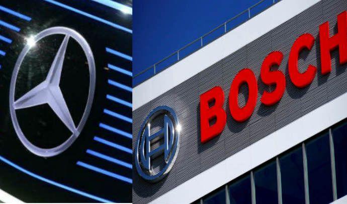 Daimler et Bosch vont faire des robotaxis