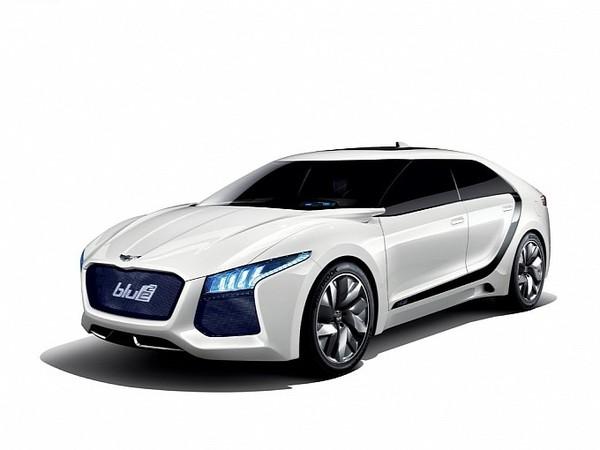 Séoul 2011 : Hyundai Blue2 Concept, une gueule sympa