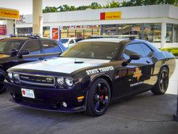 Au Texas la police roule en Dodge Challenger de 500 chevaux