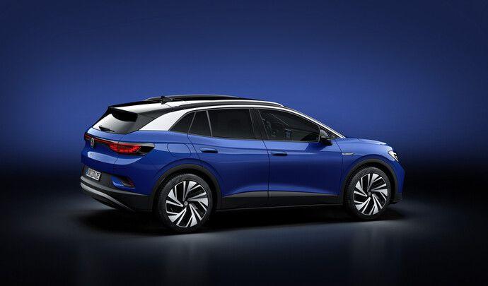 Volkswagen ID.4: 348km d'autonomie pour l'entrée de gamme