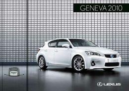 Genève 2010 : Lexus CT 200h en avance