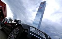 24 Heures du Mans: la tour Audi