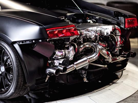 Une petite visite chez Underground Racing, spécialiste de la suralimentation sur Lamborghini