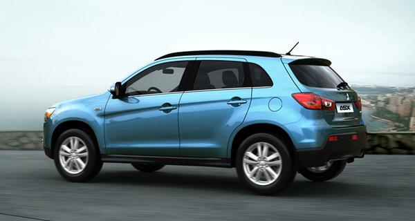 Le futur Peugeot 2008 sera basé sur le Mitsubishi ASX