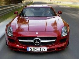 C'est officiel : la Mercedes SLS AMG électrique sera produite dès 2013