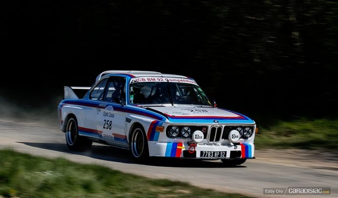 Photos du jour : BMW 3.0 CSL 1972 (Tour Auto)