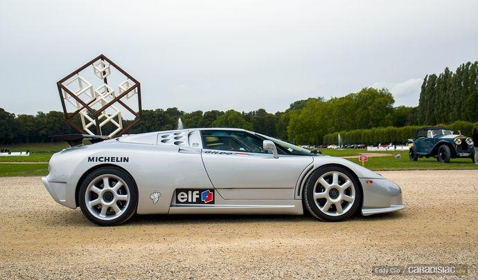 Photos du jour : Bugatti EB110 (Concours d'Elegance de Chantilly)