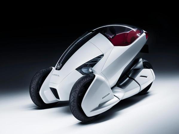 Genève 2010 : Honda 3R-C Concept, tricycle technologique
