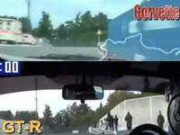 [Vidéo] Nissan GT-R VS Corvette ZR1 sur la Nordschleife, le duel par caméra interposée