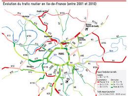 Trafic en Ile-de-France: mauvaise nouvelle, ça roule (un peu) mieux !
