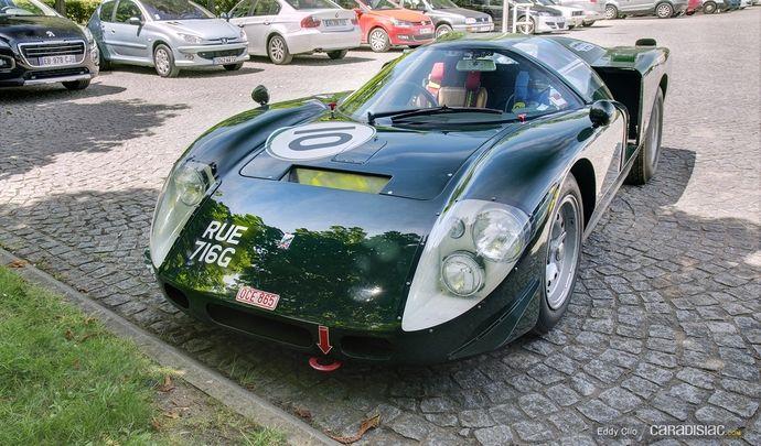 Photos du jour : Healey SR Le Mans 1968 (Le Mans Classic)