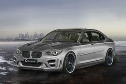 BMW Serie 7 par G-Power : limousine pour homme d'affaire vraiment très pressé
