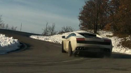 [Vidéo] Valentino Baboni parle, conduit et glisse dans sa Lamborghini LP550-2 éponyme
