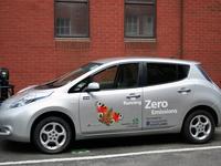 Des Nissan Leaf pour l'administration écossaise