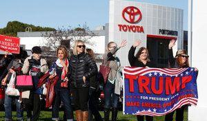 États-Unis: au tour de Toyota d'être menacé par Trump
