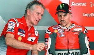 MotoGP Ciabatti Ducati: «Nous n'avons pas tout montré de la GP18»